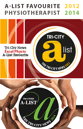Excel Physiotherapy - A-List Favourite Physiotherapist - Tri-City News - Award